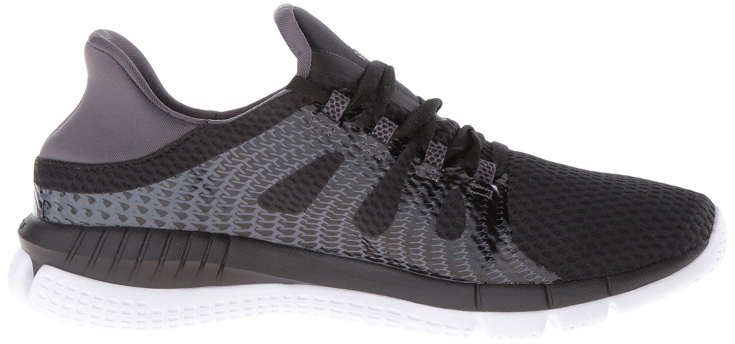 37d7c159410d2c Reebok Womens Zprint Her MTM Running Shoes Black Ash Grey White 7.5 BM US