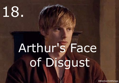 Yes, yes, yes, yes! One of my favorite Merlin things!!