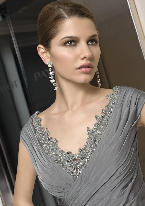 Image detail for -Grey mother of the bride dresses - alex evening ...