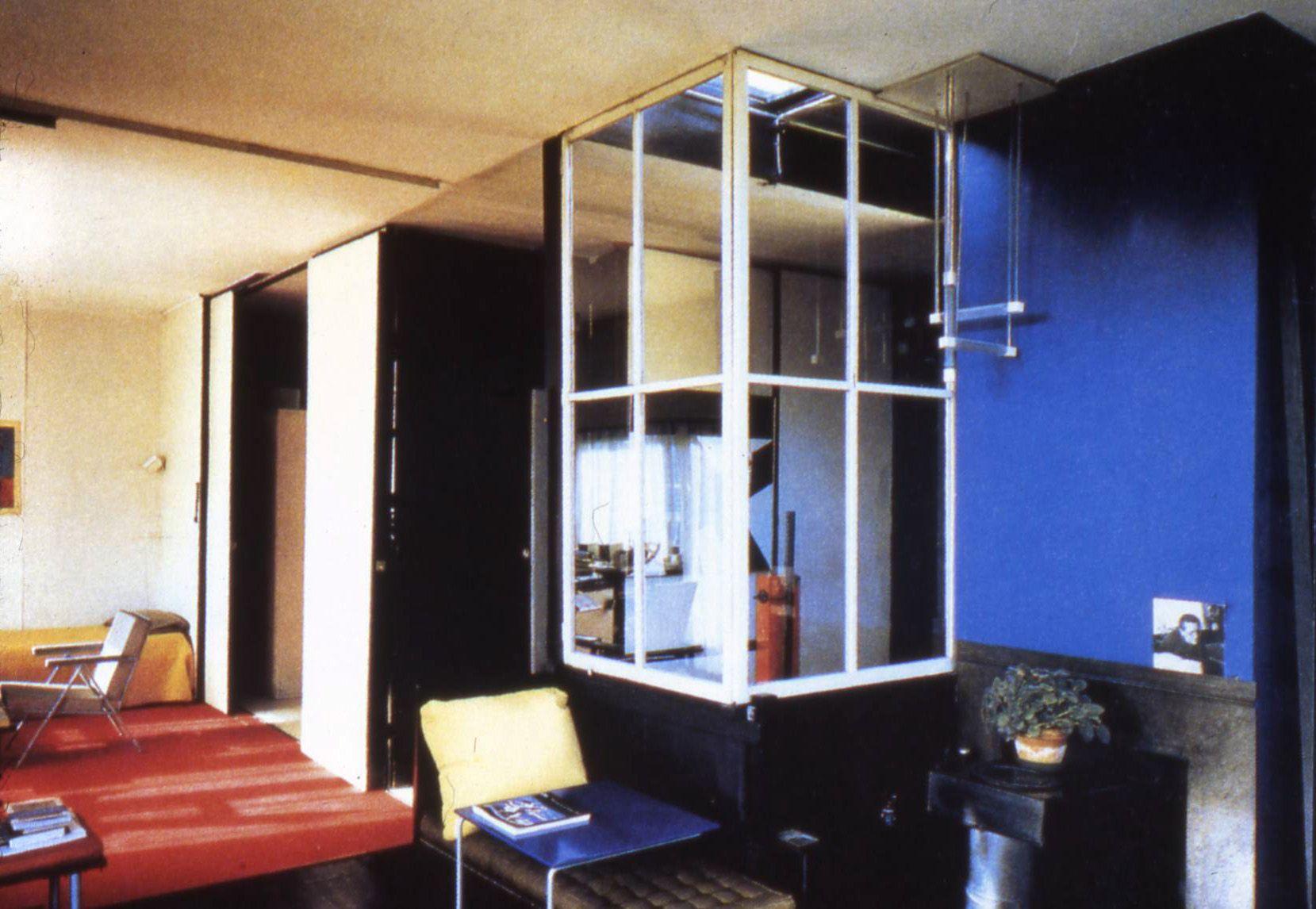 De stijl interior the rietveld schröder house hÚsnÆÐi