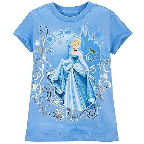 Foil Cinderella Tee for Girls