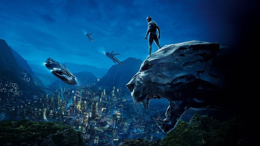 Black Panther 2018 Black Panther Movie Poster Background