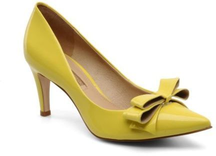 Women's Buffalo Vila Pointed Toe High Heels In Yellow