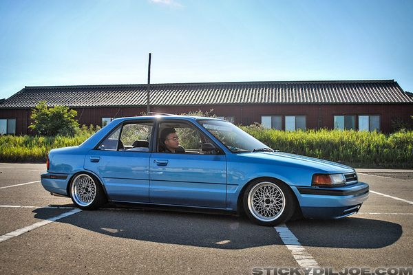 Mazda 323 mk4 / Familia BG (1989-1994) | Lowered, JDM ...
