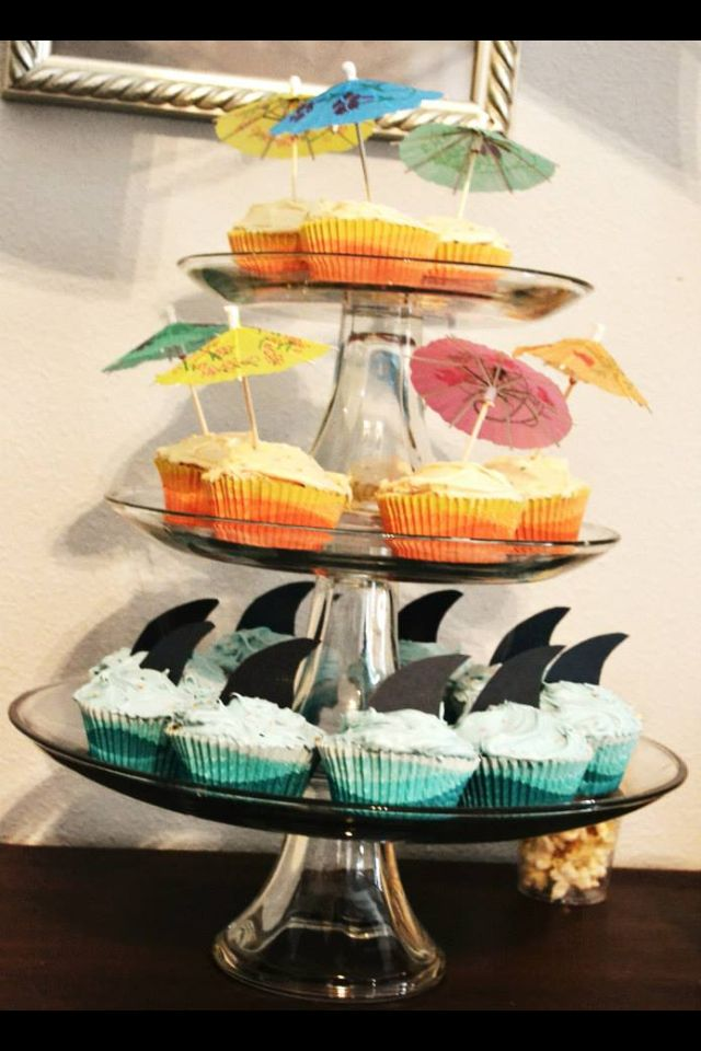 Vintage Surfer Beach Themed Party First Birthday For Our Boy