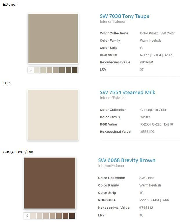 Taupe Exterior House Color Ideas: Exterior Paint Choices, Have Always Loved Tony Taupe