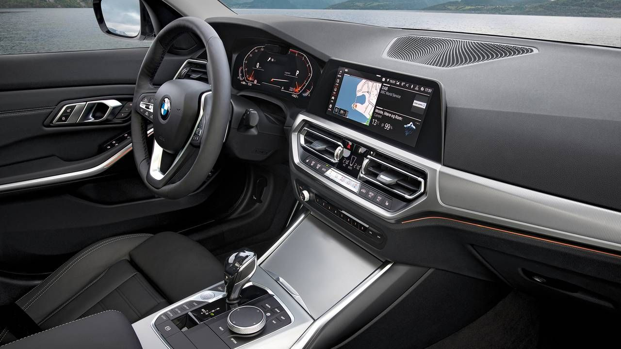 The Cabin Of The 2019 Bmw 1 Series Is Displayed Bmw Cabin