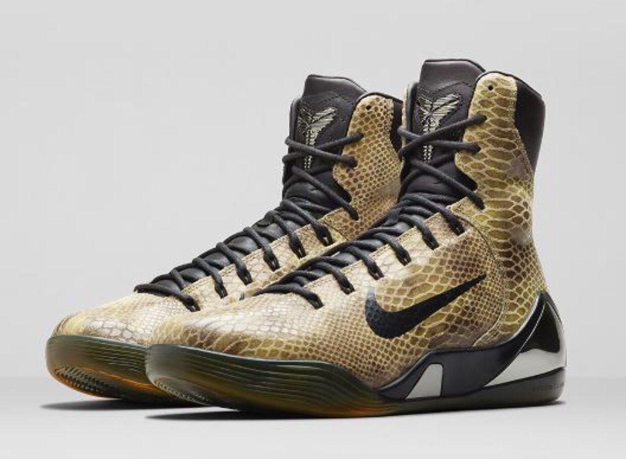 Snakeskin Kobe 9 EXT | Boots, Nice