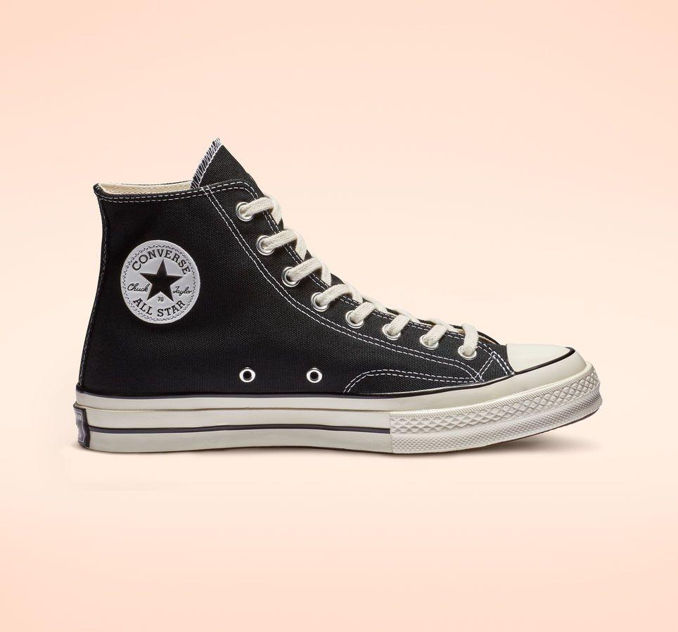 Chuck 70 Black High Top Shoe | Black