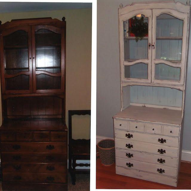 dapperhouse Annie Sloan Chalk Paint Furniture Re-do Before & After   jennyatdapperhouse.com