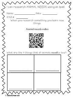 Tech the Halls with Mrs. Brimer: QR codes in kindergarten