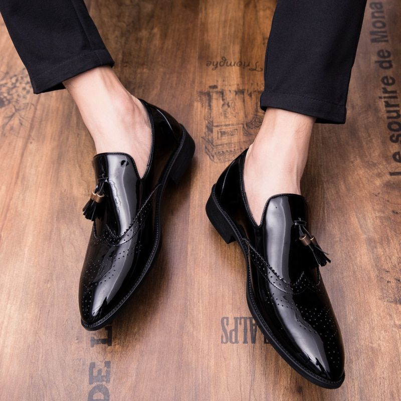 936f66845d 2019 New oxford shoes italian business Wedding men leather formal ...