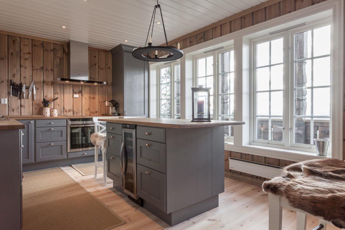 Kistefos kjøkken 2 - Kistefos møbler | Hytte | Pinterest | Haus ...
