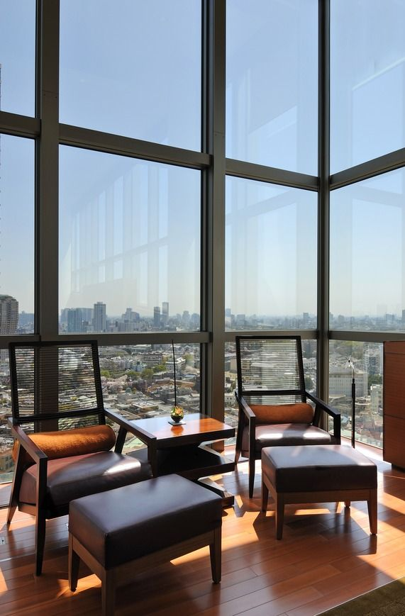 Check out this view from Grand Hyatt Tokyo's Presidential Suite! #luxury