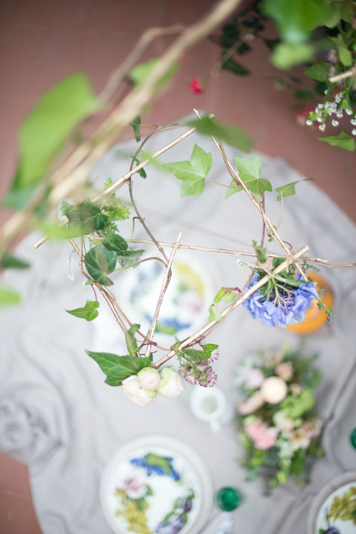 picnic con flores - Decoración de eventos en All Lovely Party