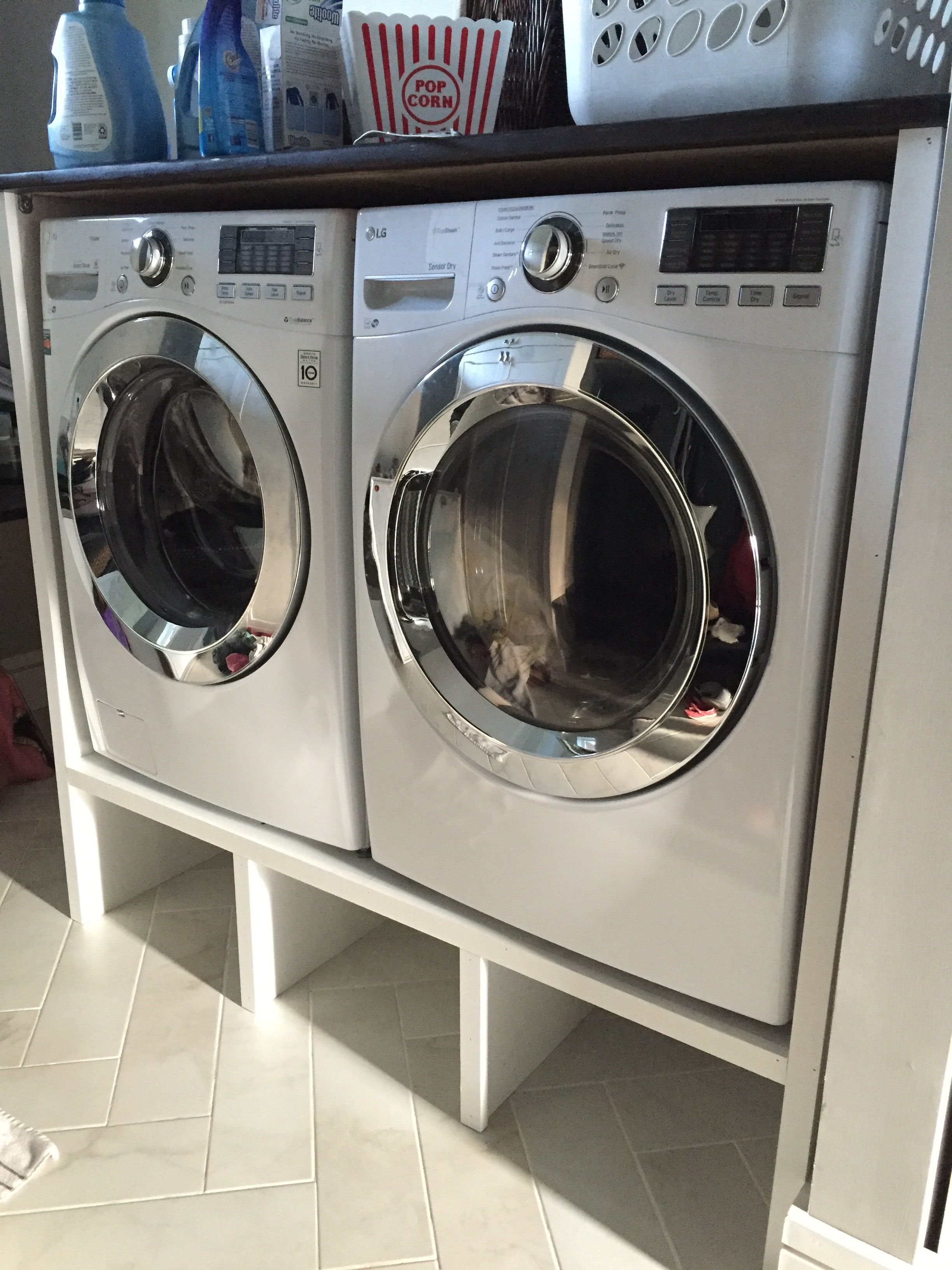 Washer Dryer Pedestal And Surround Laundry Room Pedestal