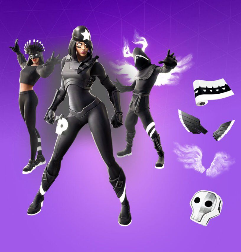 Fortnite Perfect Shadow Skin Outfit Pngs Images Pro Game Guides Shadow Archetype Shadow Cool Backgrounds
