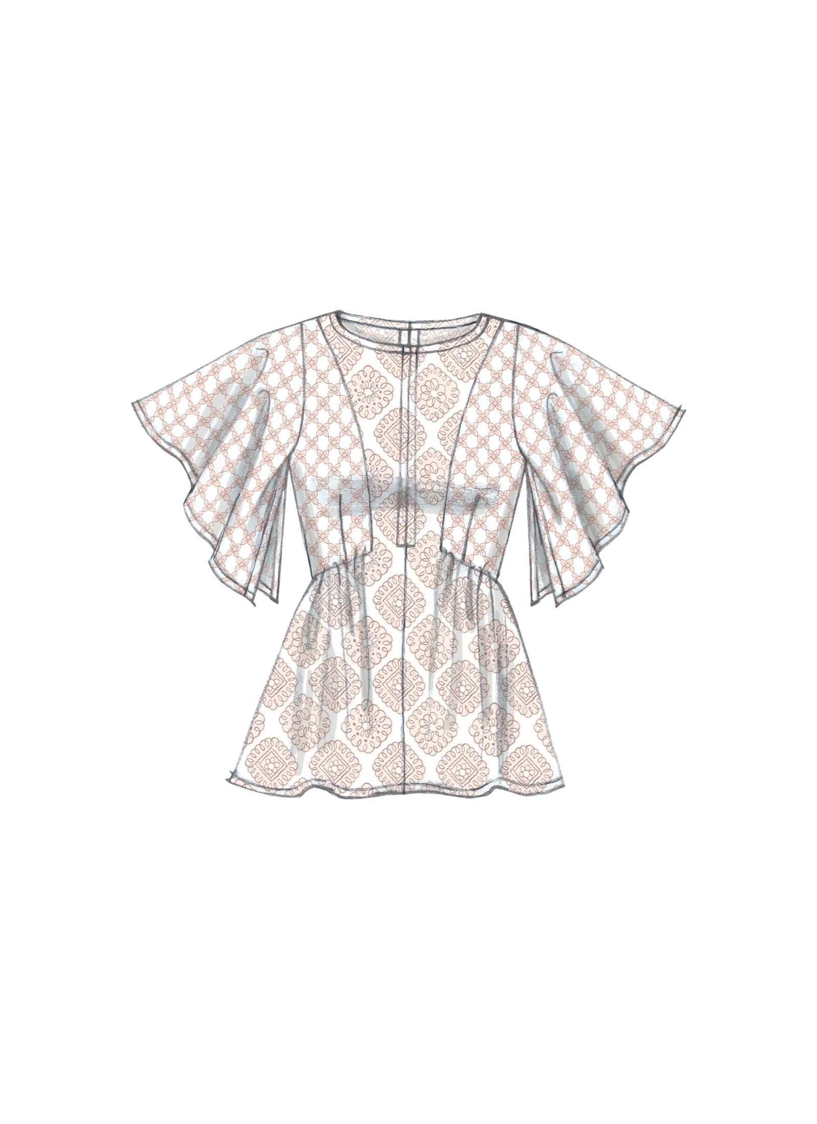 M7385 | McCall\'s Patterns | Блуза | Pinterest | Ropa dibujo ...