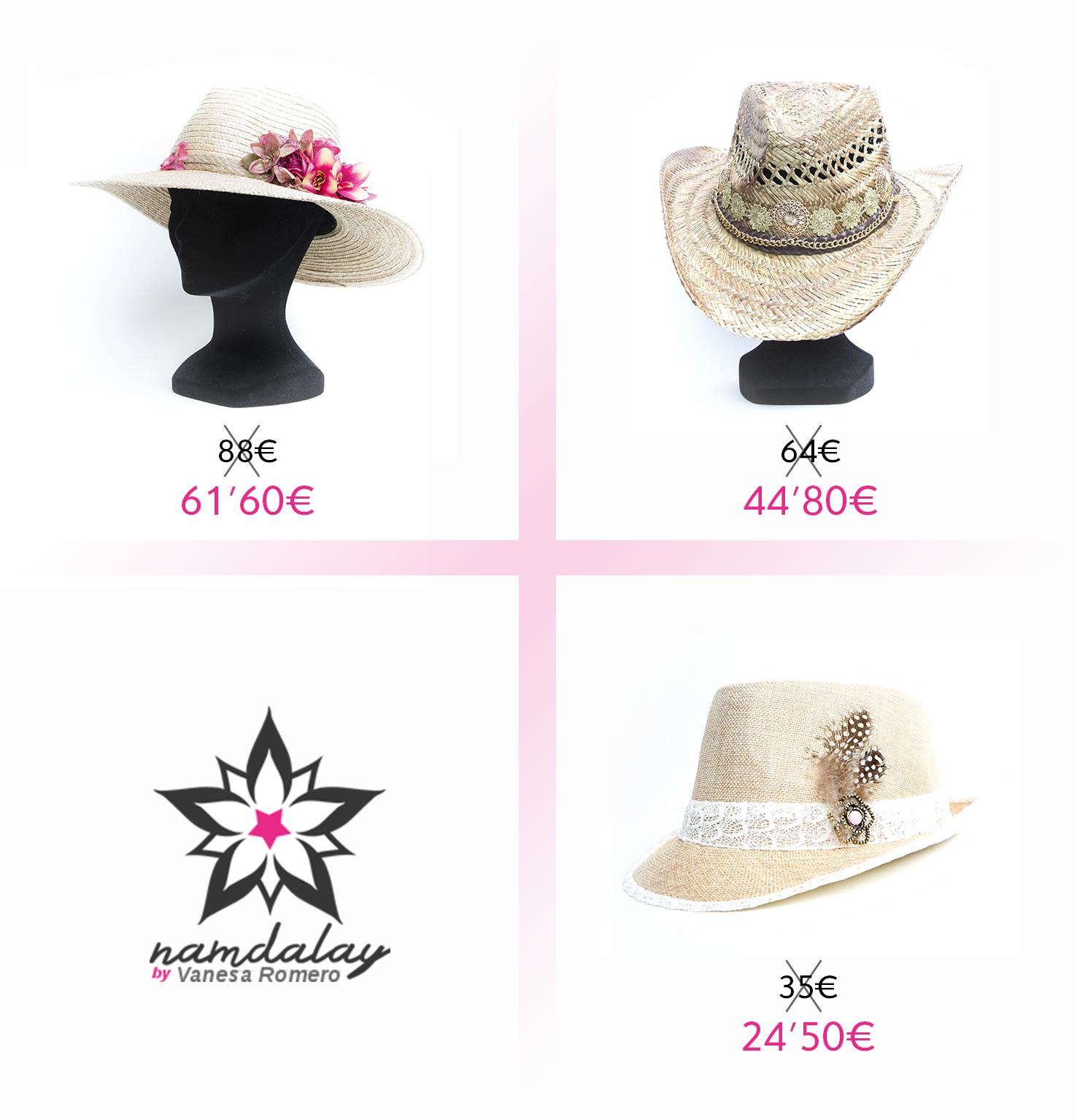 De ala corta, estilo cowgirl, pamela... En Namdalay tenemos los sombreros más apetecibles para encontrar el que mejor se adapte a cada estilo, ¡¡y con un 30% de descuento!!  Entra en www.namdalay.com y elige tu favorito 😉