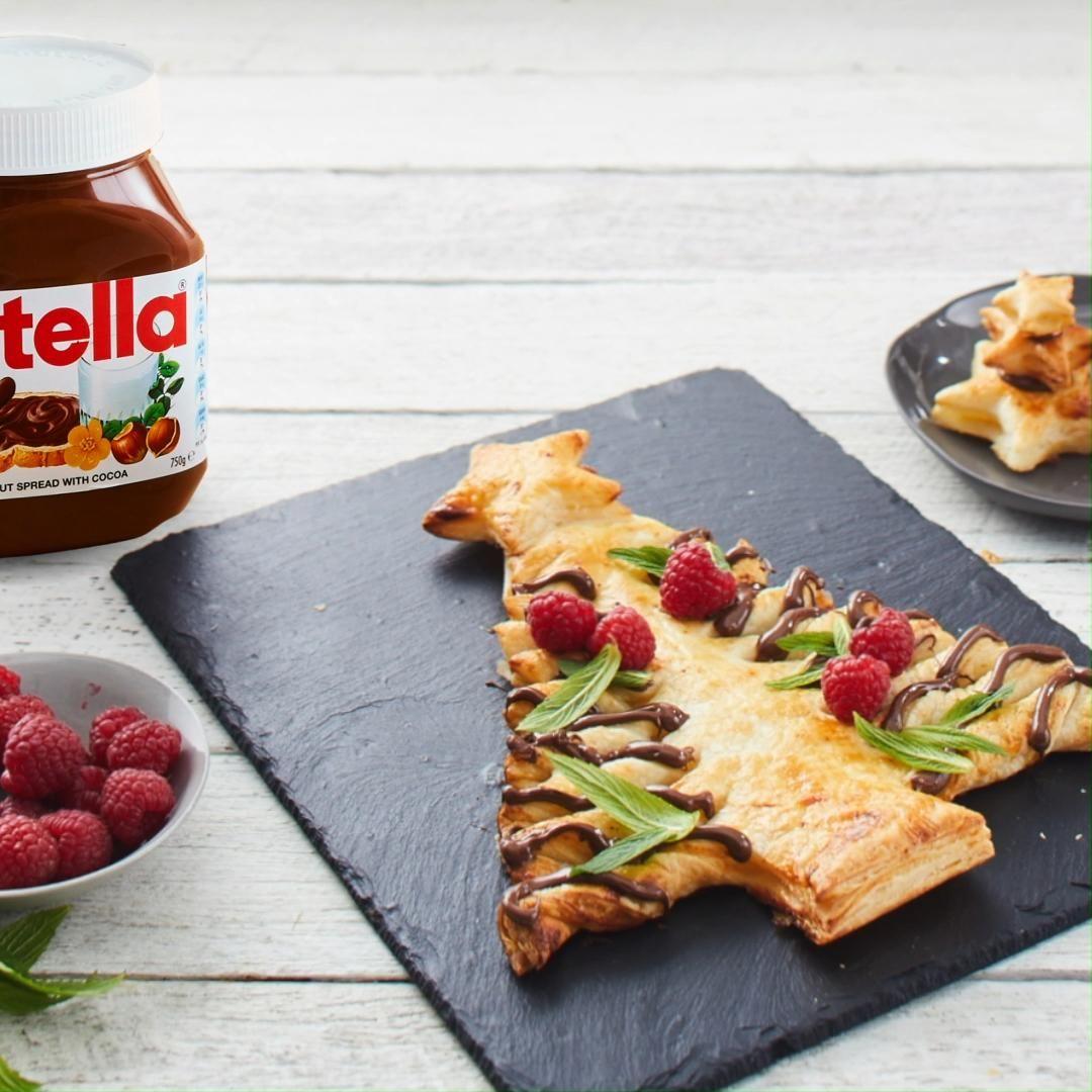 Nutella Pastry Tree Recipe -   24 xmas food videos christmas dinners ideas