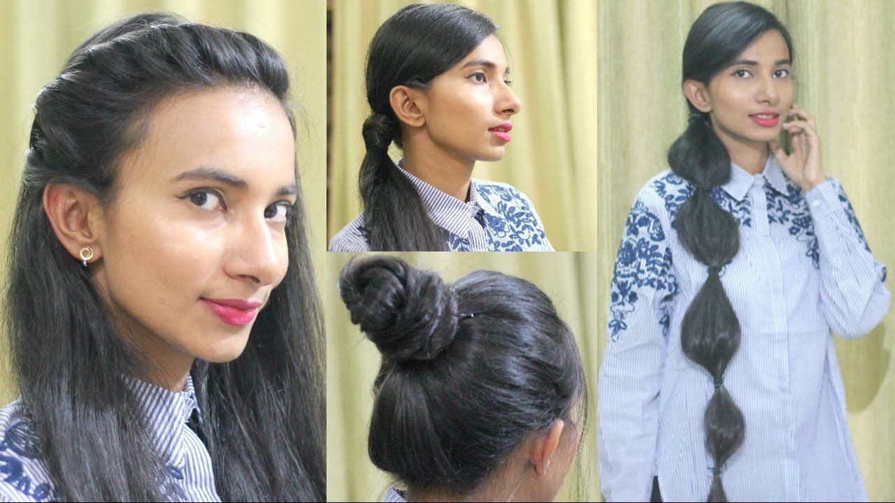 cute and easy summer hairstyles for college school work sneha