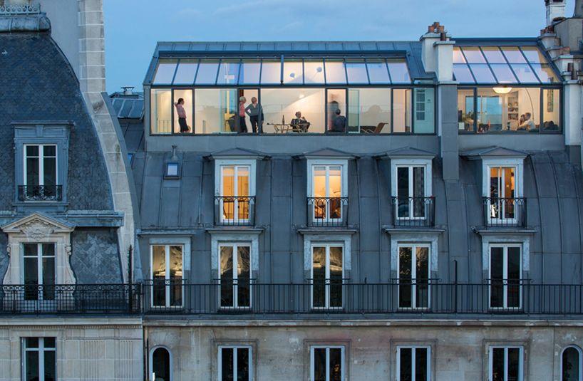 vincent parreira converts photography studio into apartments
