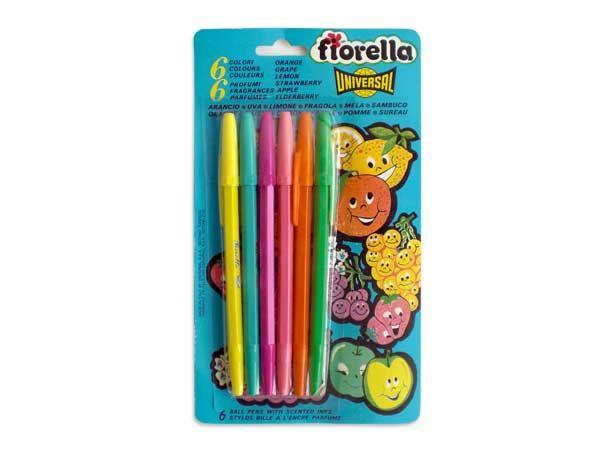 """Si aún recuerdas los lapiceros """"Fiorella"""" que tenían olor, tienes muy buena memoria!"""