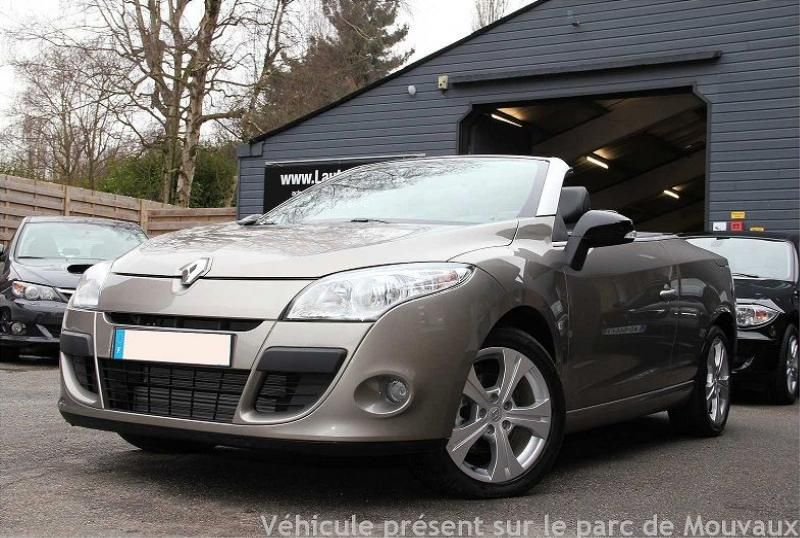 renault megane iii coupe cabriolet 1 9 dci 130 dynamique euro5 occasions. Black Bedroom Furniture Sets. Home Design Ideas