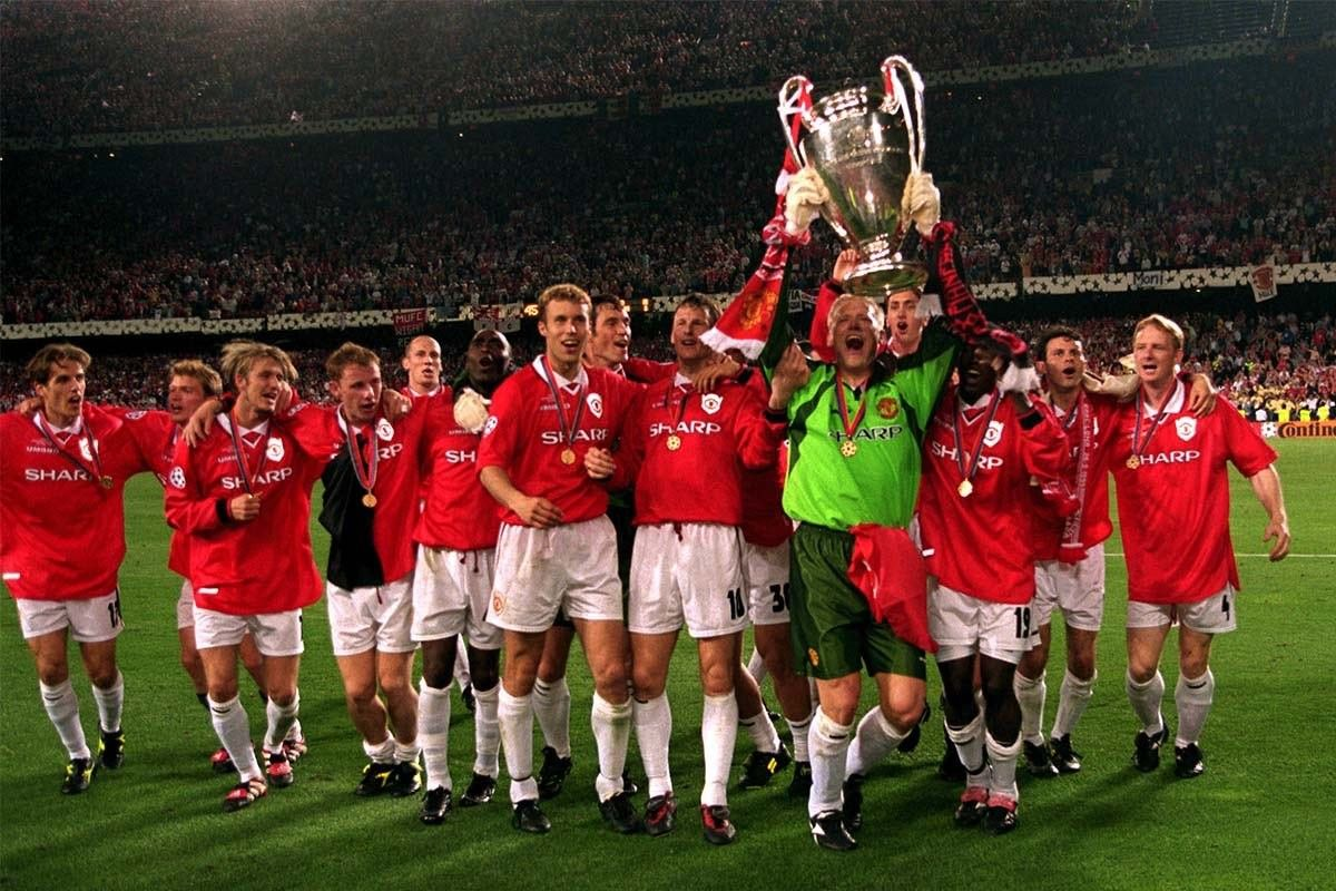 Manchester United 1999 Manchester United Champions League Manchester United Manchester United Wallpaper