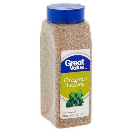 Great Value Oregano Leaves 5 5 Oz Walmart Com Oregano Leaves Oregano How To Dry Oregano