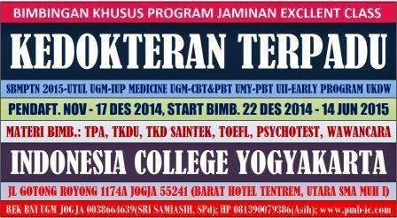 Bimbingan Kedokteran Terpadu Kelas Alumni Di Indonesia College Yogyakarta Start 22 Des 2014 Dan 17 Jan 2015 Kedokteran Belajar Kebidanan