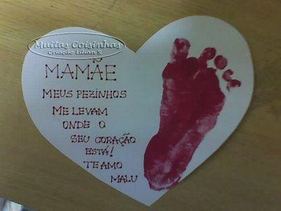 Cartão Dia Da Mãe Pinterest Cartão Mães E Dia De