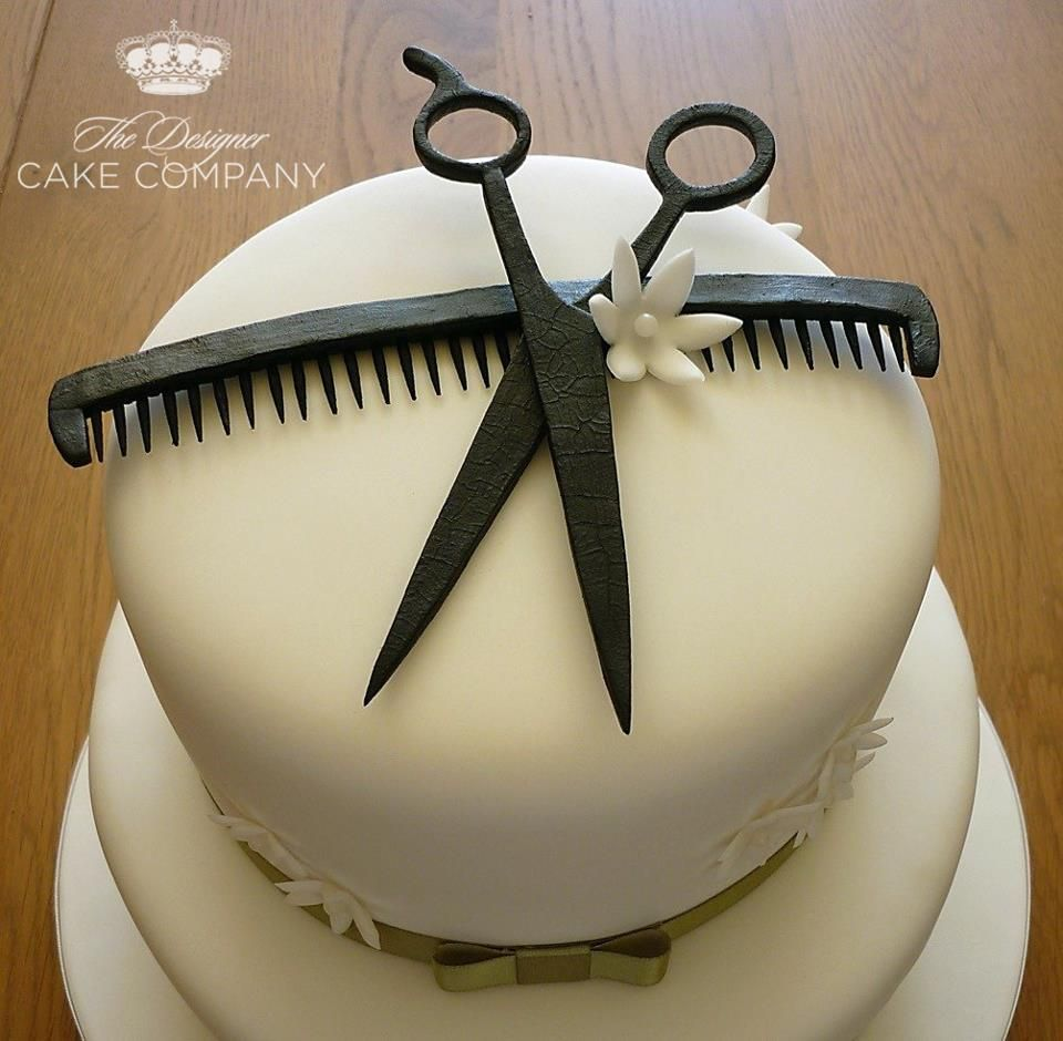 Hairdresser Cake This Is Sooo Cool