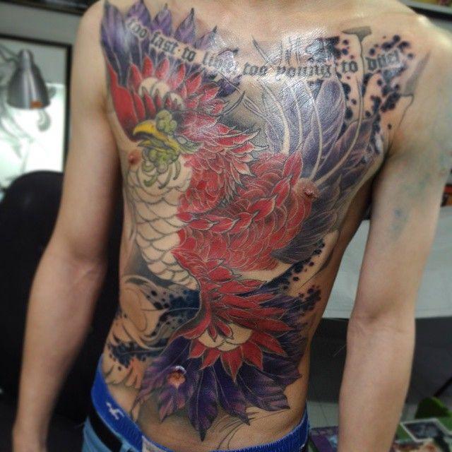 Japanese Tattoo Irezumi Full Front Back Phoenix Color Colour Singapore Sg Www Ofgodsandmonsters Com Www Instagram Com Of Japanese Tattoo Tattoos Irezumi
