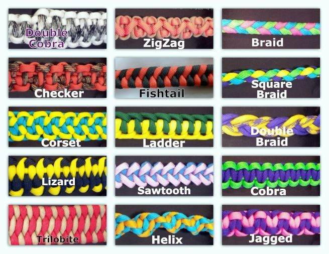 paracord+weaves Custom made paracord items  Links to an