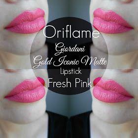Mela E Cannella Oriflame Giordani Gold Iconic Matte Lipstick