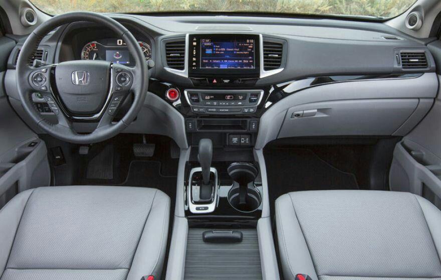 All New 2017 Honda Ridgeline Interior Honda Pilot Honda Ridgeline Honda Ridgeline 2017