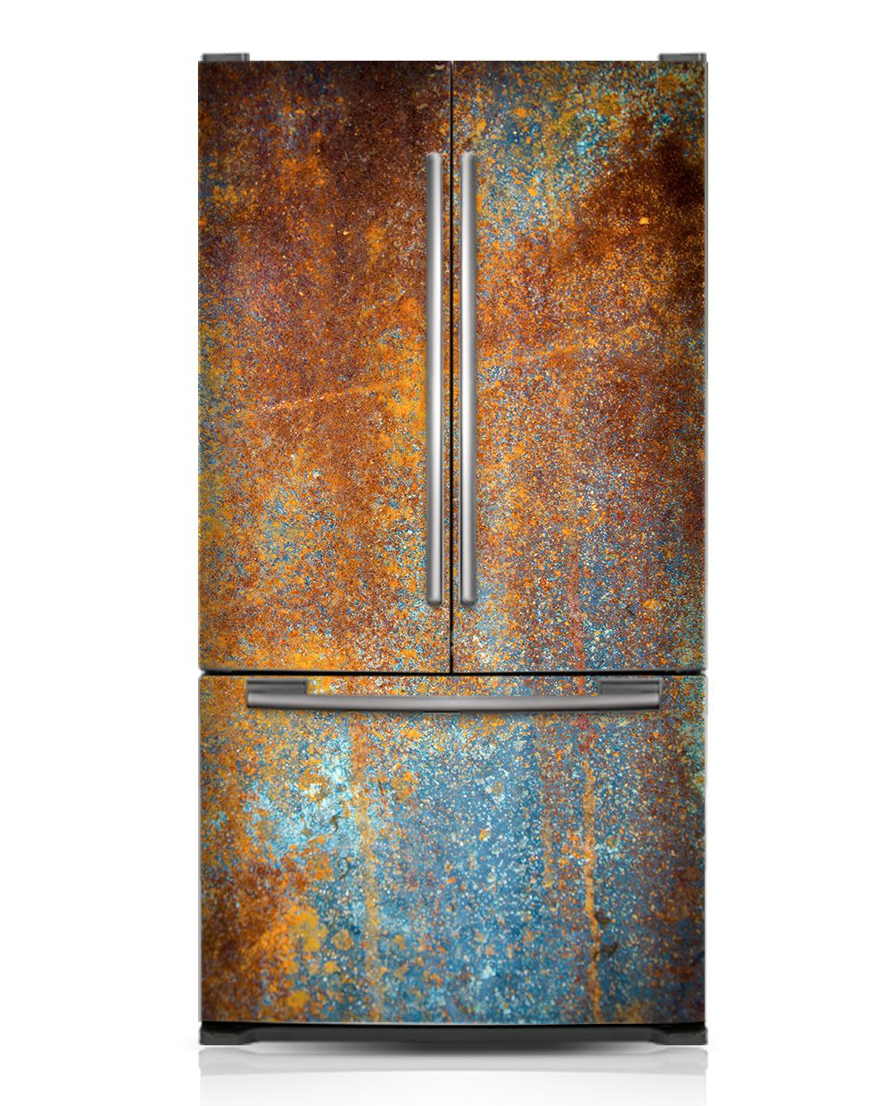 Rust Steampunk Kitchen Rust Wood Cover