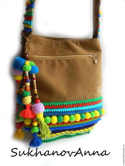 Купить или заказать Бохо-сумка  Карнавал  в интернет-магазине на Ярмарке  Мастеров f03dcff1478