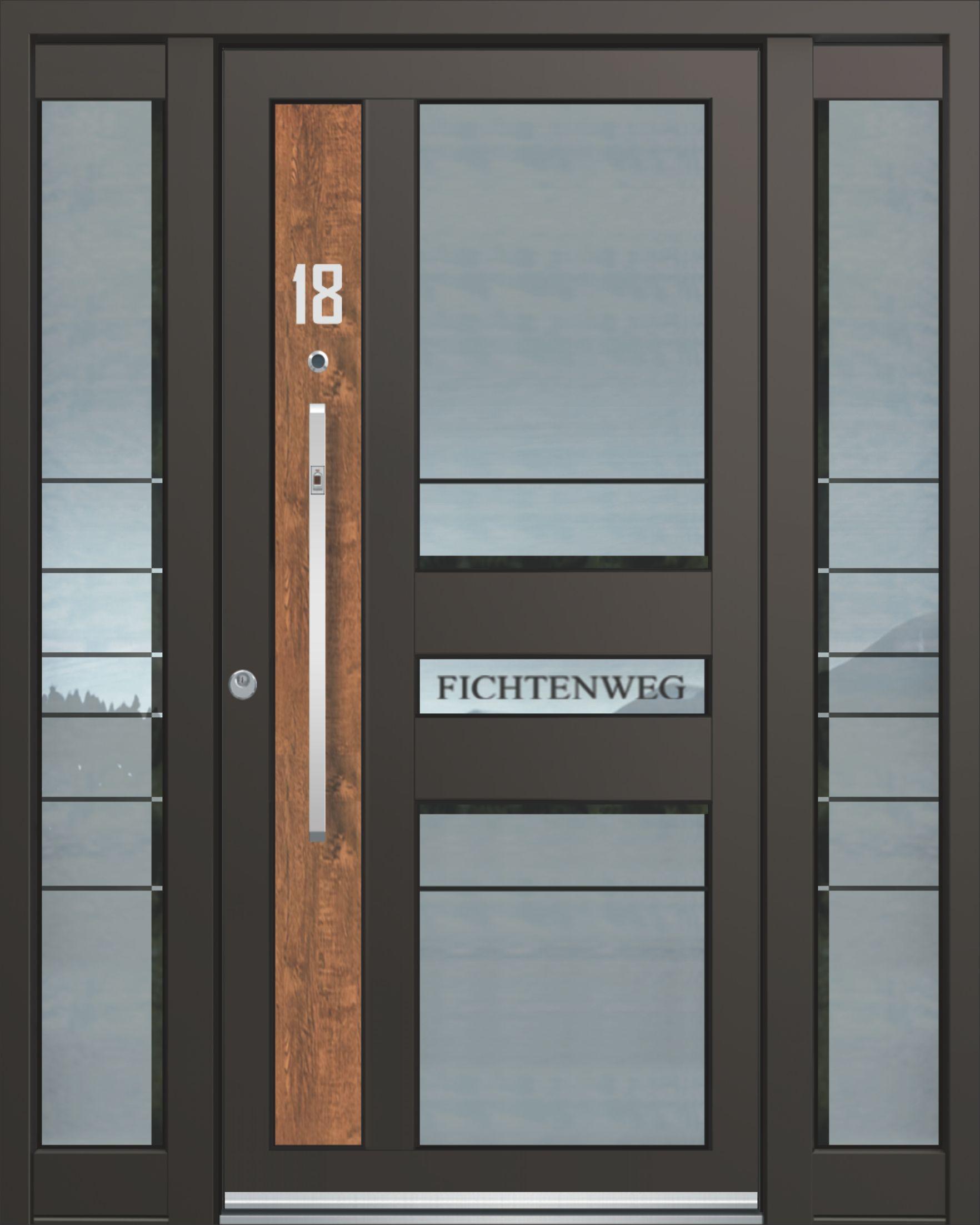 Inotherm Haustür Modell ASS 1727 Tür Mit Viel Glas Preis Auf Anfrage Bei  Www.1001
