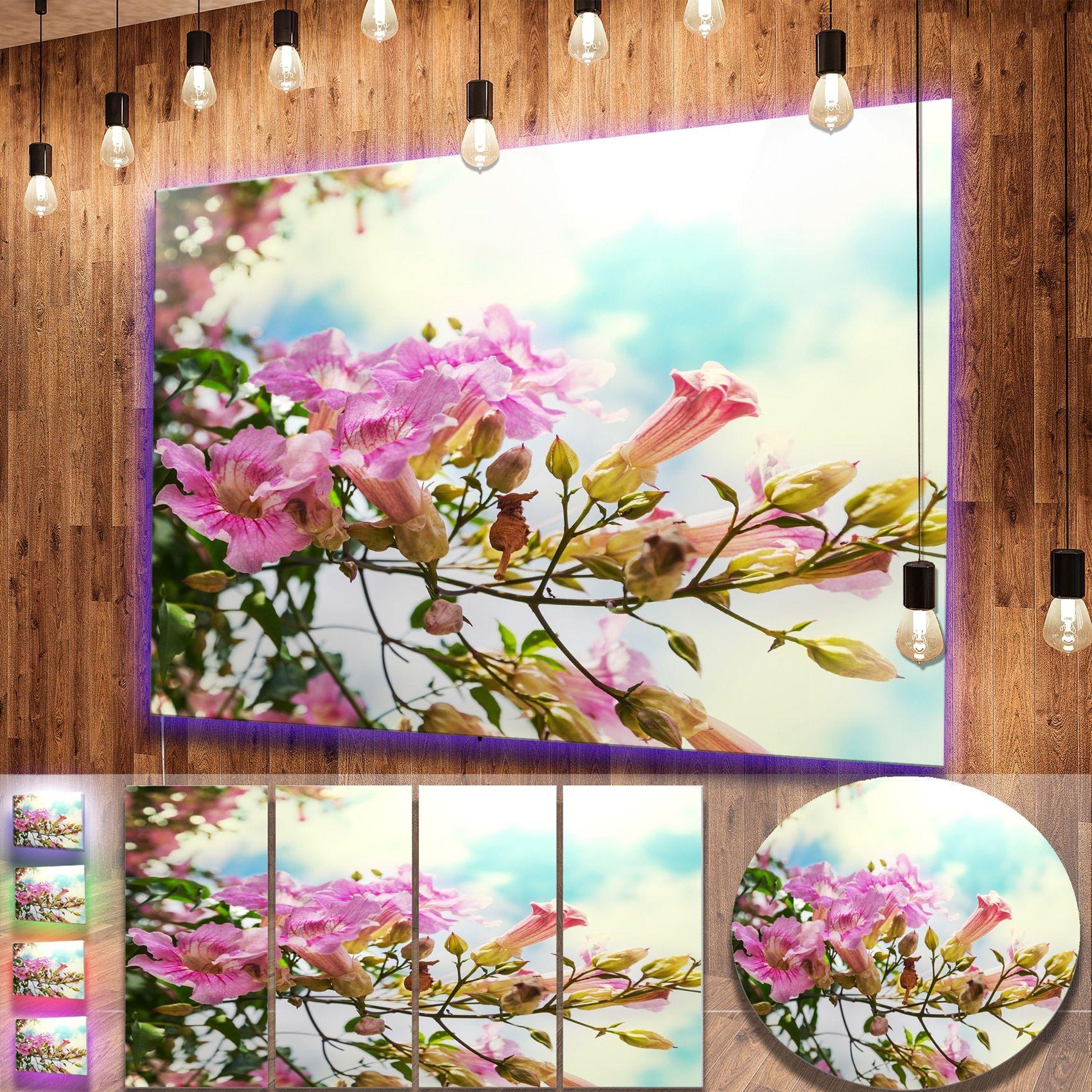 Designart flowers in hawaiian garden flower metal wall art designart flowers in hawaiian garden flower metal izmirmasajfo