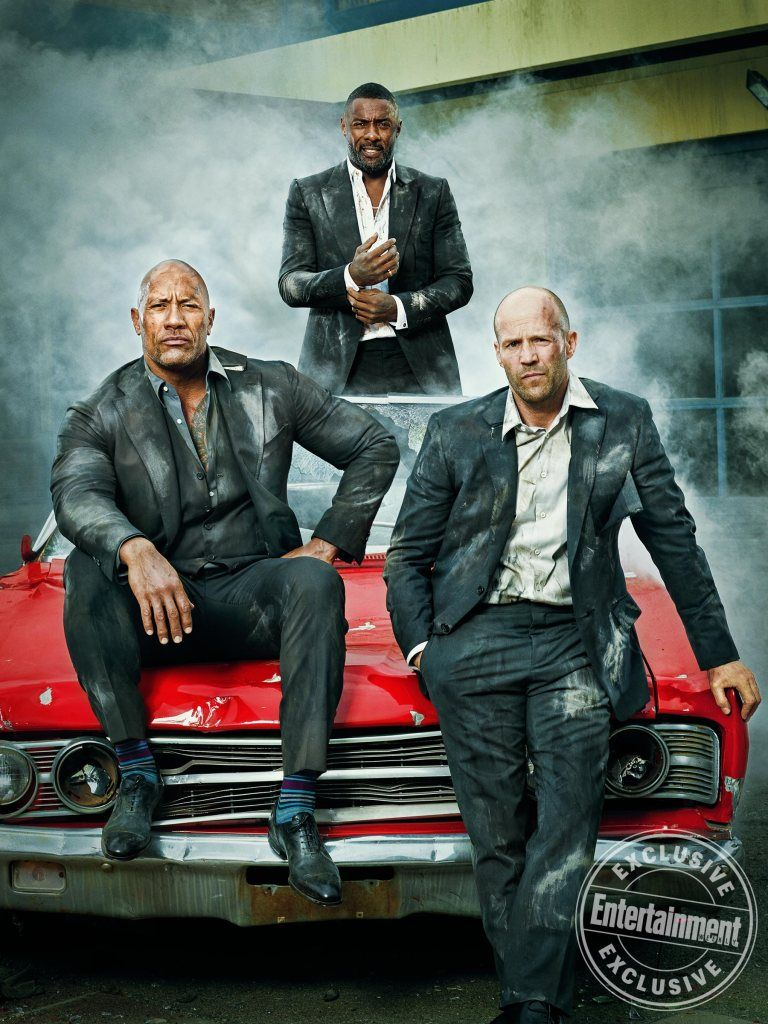 Get Behind The Wheel With Ew S Exclusive Hobbs Shaw Cover
