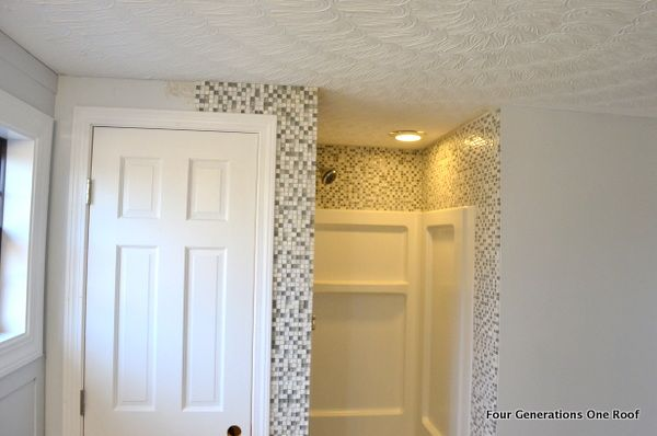 How to install mosaic tile {tutorial | Mosaics, Walls and Fiberglass ...