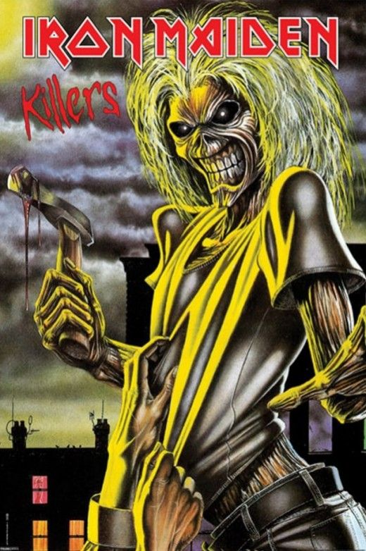 Iron Maiden Album Covers by Derek Riggs | Iron maiden album covers ...