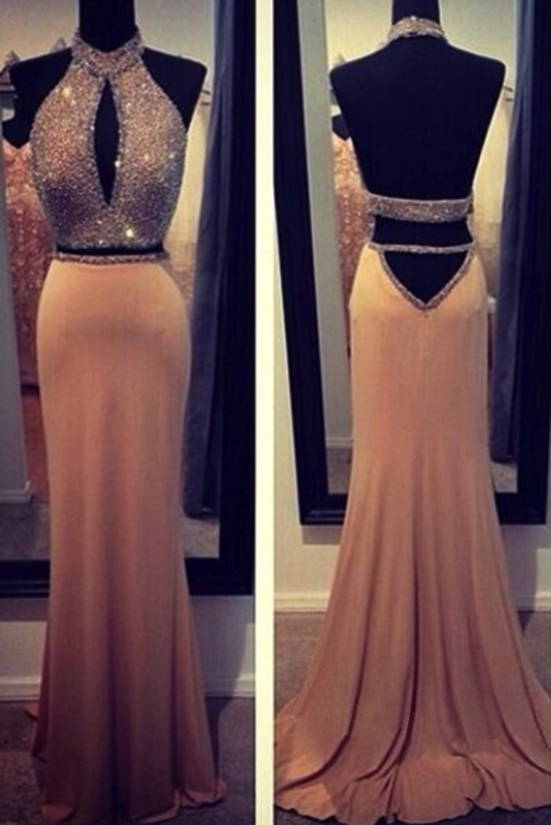 Two piece prom dress sexy prom dress formal pinterest prom