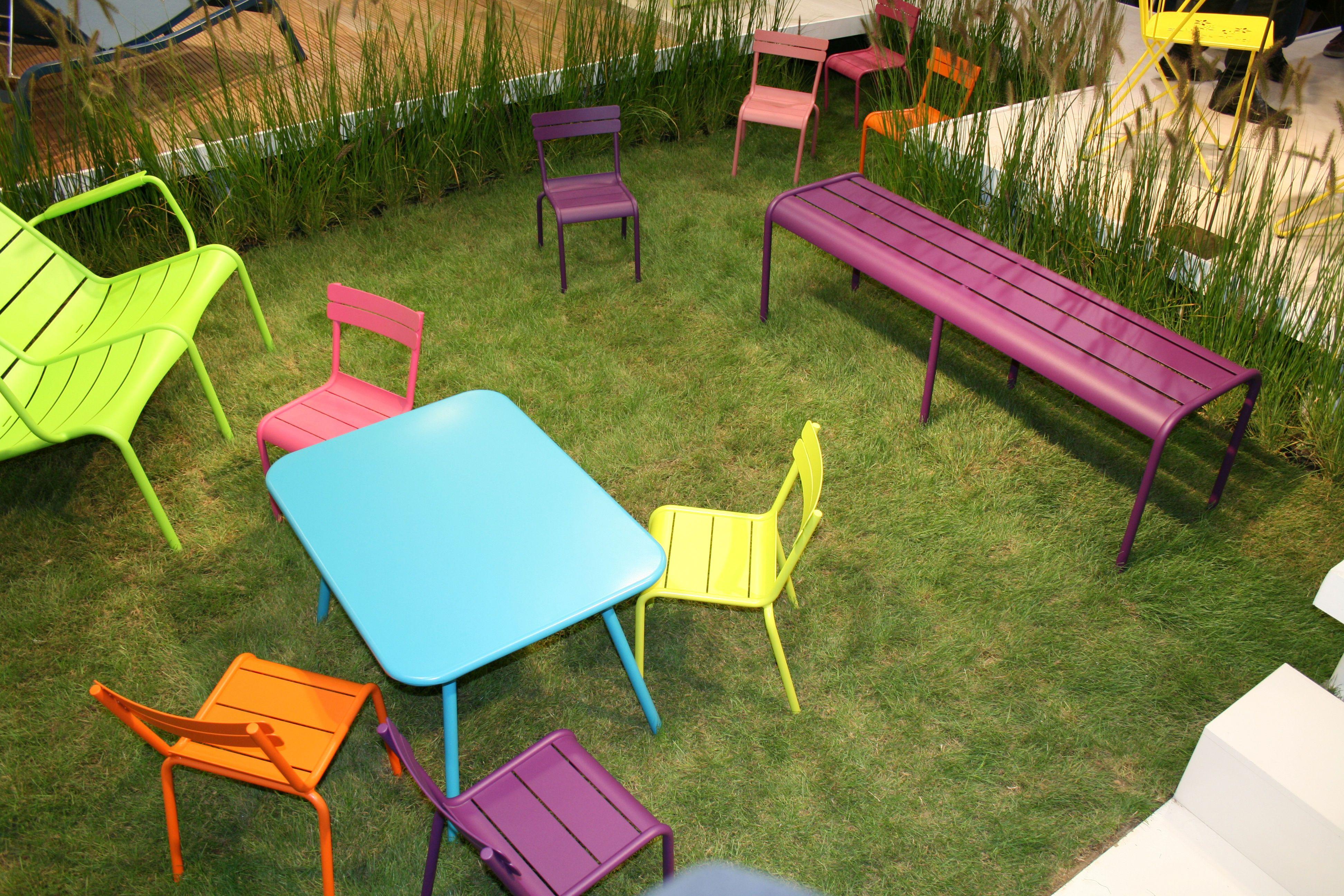 impressionnant salon de jardin en metal pas cher | Décoration ...