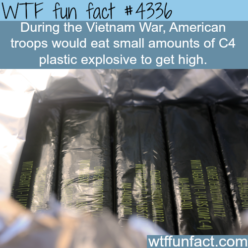 How the American troops got high during the Vietnam war - WTF fun facts