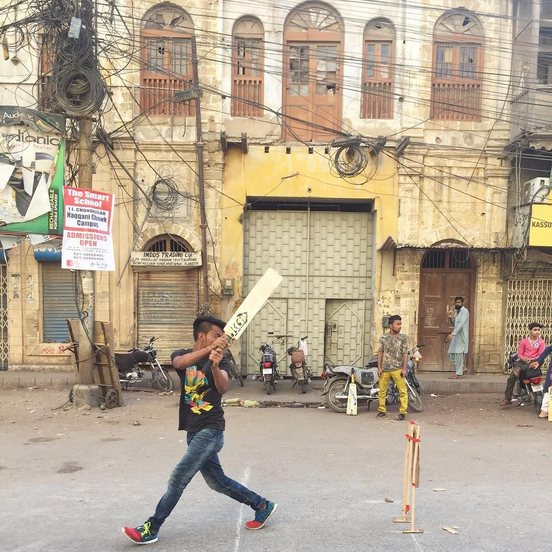 Sunday Street Cricket In The Old City Instagram Old City Street View