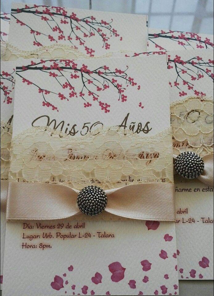 Tarjetas De Invitación A Cumpleaños Cumpleaños Mujer