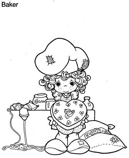 Precious Moments Chef Coloring Page
